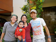 Antigua, Guatemala - CSing with Belinda Sanchez and her little man Rene (Dec 2012)