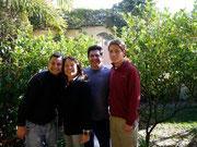 with our CS host family (Monika, Gustavo & Pablo) in Cochabamba, Bolivia