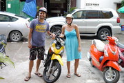 our wheels in Nha Trang, Vietnam