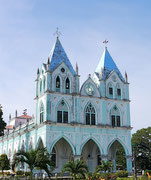Catholic church on the other side of the island in Bohol