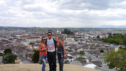 Popayan, Colombia with CS friend Yulieth Fernandez Claros (Sep 2012)
