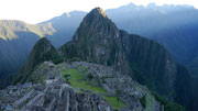 Sunrise at Machu Picchu, Peru