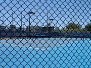 Jelana Jankovic (SRB) hitting the training courts