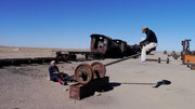 Uyuni Old Trains, Bolivia (San Pedro de Atacama, Chile to Uyuni, Bolivia)