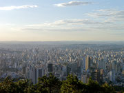 view of Belo Horizonte from Mangabeiras