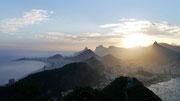 view from the Pão de Açúcar, Rio de Janeiro, Brazil
