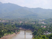 view from Phousi Mountain