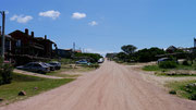 Punta del Diablo, Uruguay (our hostel on the left)