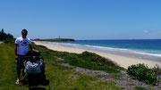 the beautiful beaches at Wollongong, New South Wales, Australia