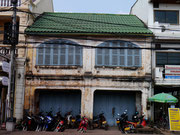 on the streets in Vientiane, Laos