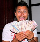 everyday millionaire in Laos...