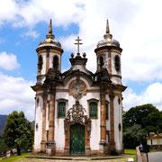 Igreja de Sao Francisco de Assis, Ouro Preto, Brazil