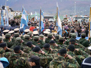 30th Anniversary of the Malvinas War - Ushuaia, Argentina