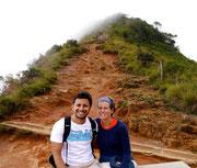 us at Little World's End, Horton Plains, Nuwara Eliya