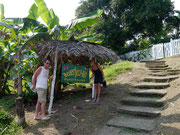 Our hostel, Beverly's Hill, on Bastimentos, Bocas del Toro, Panama