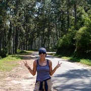 gangster looking Fudgie in Ella on way to Little Adam's Peak!!!