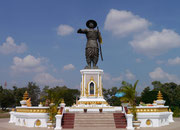Chao Anouvong monument (1767-1829)