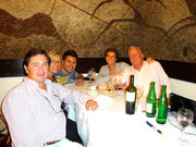 Dinner with Blanca, Pachi and dad, Buenos Aires, Argentina
