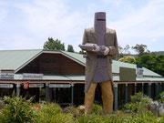 Home of the most infamous bushranger in Australian history, Ned Kelly - Glenrowan, Victoria, Australia