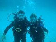 Dingo & Fudgie - Diving at Seymour, Santa Cruz, Galapagos Islands