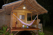 our Nipa hut next to Loboc River, Loboc, Bohol