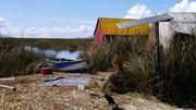 Floating Village, Lake Titicaca, Puno