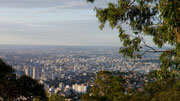 view of Belo Horizonte from Mangabeiras