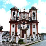 Igreja NS da Conceicao de Antonio Dias, Ouro Preto, Brazil