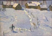 Зима в деревне (2)