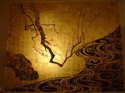 роспись по золотому фону
