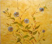 состаренная фреска