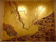 художественная роспись по золоту