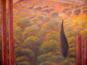 Художестванная роспись стен ресторана