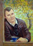 портрет Михаил (живопись, холст, масло.)