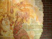 дизайн стен,фреска