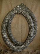 художественная серебряная рама