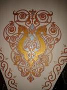 восточный орнамент кони