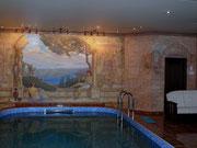 Роспись стен бассейна