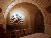 Художественная роспись стен вип зала