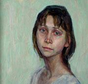 Портрет ..Алёнушка..(фрагмент)