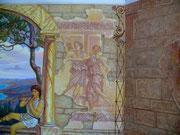 фреска в бассейне