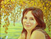 портрет Лариса  (фрагмент)
