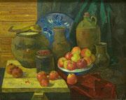 Натюрморт с яблоками 2