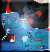 Comeback - 70 x 80 cm