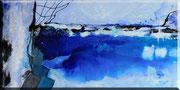 Eiswelten 1     100 x 50 cm