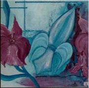 Flora-  50 x 50 cm