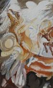 Iasoons struggle  ( Modern version) - acryl - 100 x 61 cm
