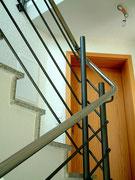 2. Geländer mit Stab-Füllung