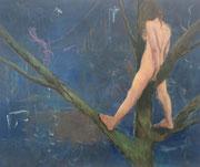 Aus vergessener Zeit 2014; 32 x 27 cm Acryl, Öl auf Kreidepaneel