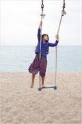 Photo Color digital serie lena play on the beach 3